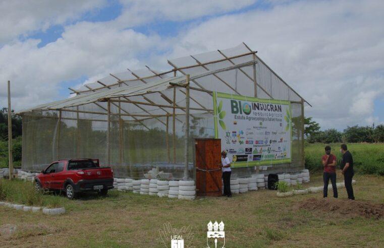 Ceca recebe a Bioinsugram, primeira estufa agroecológica de Alagoas